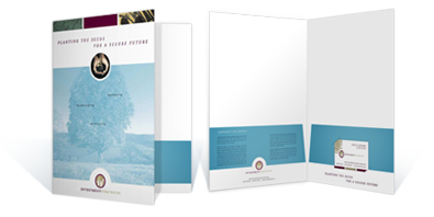 Brochure with business card slot arts arts presentation folders with business card slots arts colourmoves